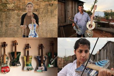 Un orchestre de jeunes virtuoses issu d'une décharge