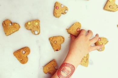 Cookies petits cœurs