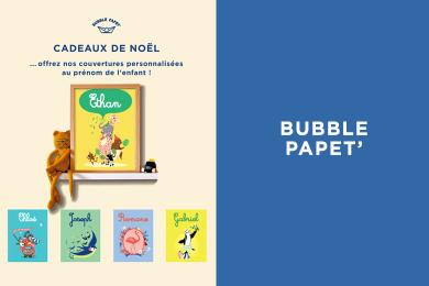 Affiche personnalisée façon Bubble