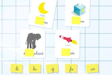 Appli : «Syllabes Montessori»(5-7 ans)
