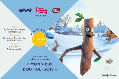Monsieur-Bout-de-Bois : avant-première !