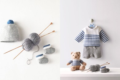 Une collection tricotée avec amour…