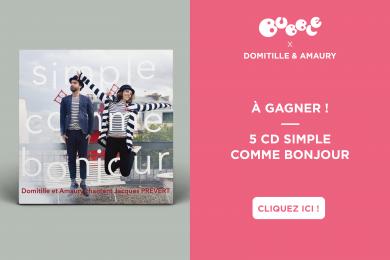 Domitille et Amaury : Prévert en musique