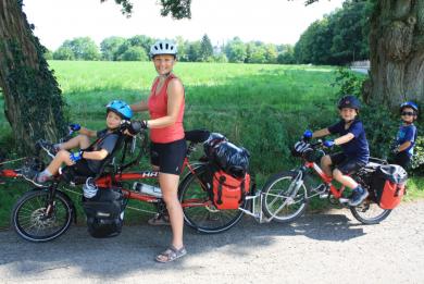 VACANCES NOMADES : Bouger – A vélo