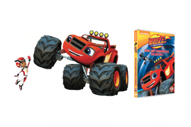 BLAZE ET LES MONSTER MACHINES EN DVD