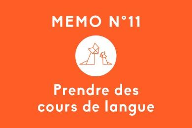 Mémo N° 11 – Prendre des cours de langue