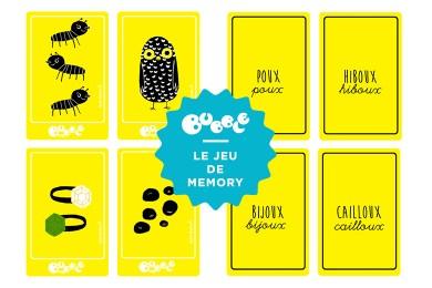 Jeux de memory des mots en «oux» [Printable]