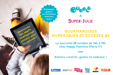 Bubble Event : Gourmandises numériques et sucrées # 2 !