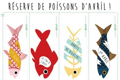 Réserve de Poissons d'Avril ! [Printable]