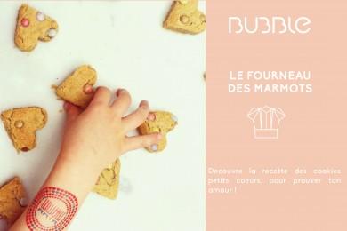 Fourneau des marmots : cookies petits cœurs