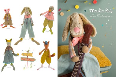 MOULIN ROTY : peluches à croquer