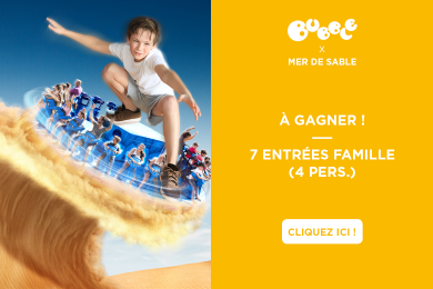 LA MER DE SABLE : parc d'attraction