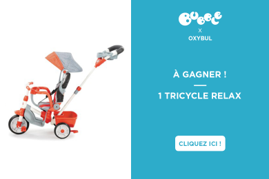 OXYBUL : tricycle poussette