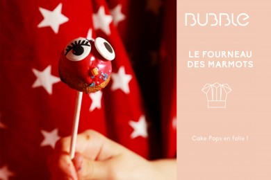 Cake Pops en folie !