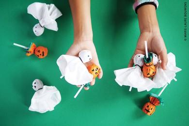 Sucettes spéciales Halloween