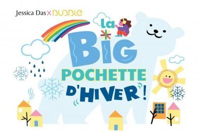 La BIG pochette de l'hiver Jessica Das x Bubble Mag