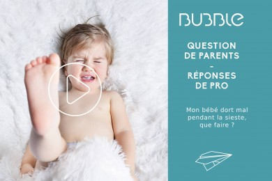 Mon bébé dort mal pendant la sieste, que faire ?