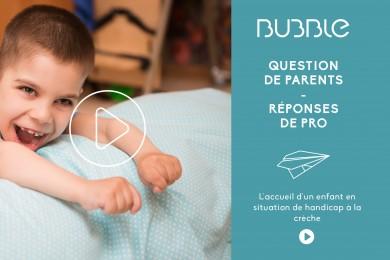 L'accueil d'un enfant en situation de handicap à la crèche