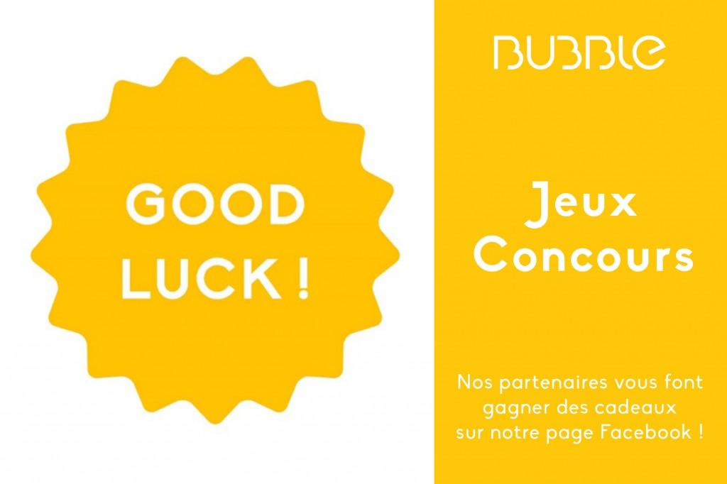 Good Luck, tentez de gagner des cadeaux !