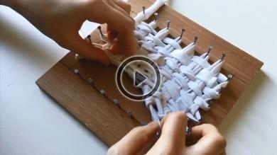 Fabriquer une éponge Tawashi
