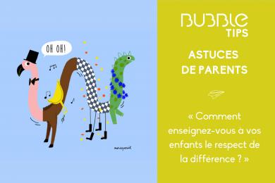 « Comment enseignez-vous à vos enfants le respect de la différence ? »